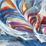 America's Cup by Len Garon