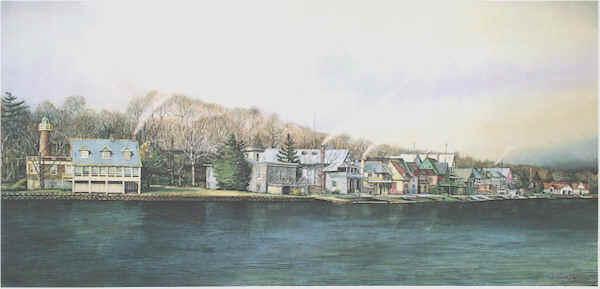 Boathouse Row 3 by Nick Santoleri