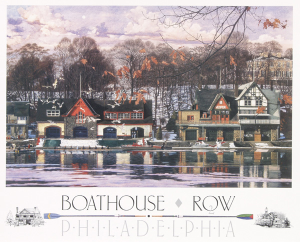 Boathouse Row 2 by Jamie Cavaliere