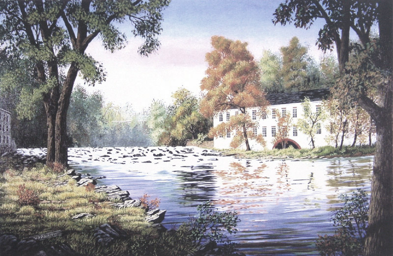 Brandywine Reflections by William Dawson