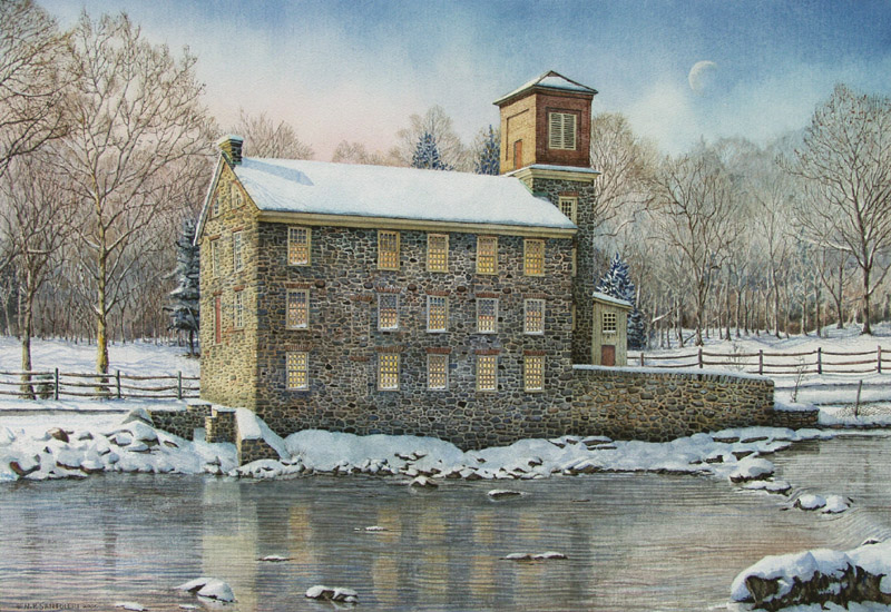 Brecks Mill by Nick Santoleri