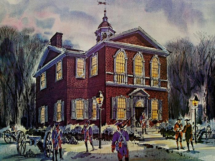 Carpenters Hall by William Ressler