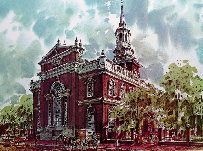 Christ Church by William Ressler