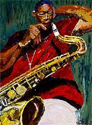 Coltrane by Dane Tilghman