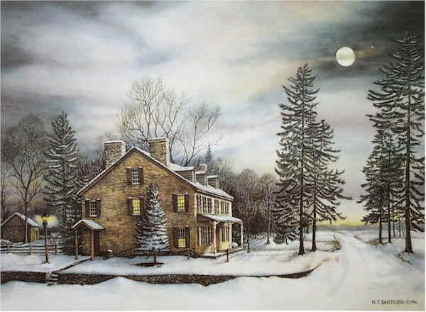 Evening At Edgemont by Nick Santoleri