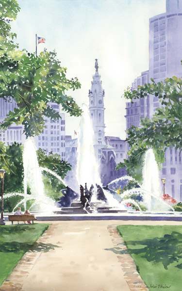 Logan Circle by Anne Santoleri Whalon