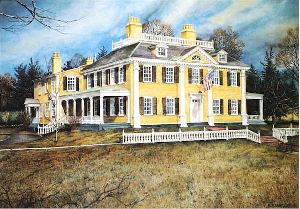 Longfellow House by Nick Santoleri