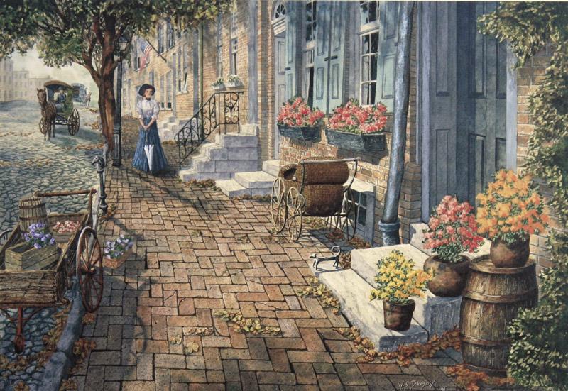 Morning Shadows by William Dawson