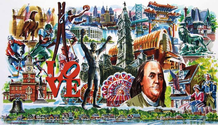Philadelphia Giclee by William Ressler