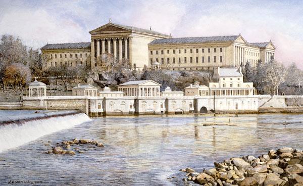 Philadelphia Waterworks by Nick Santoleri