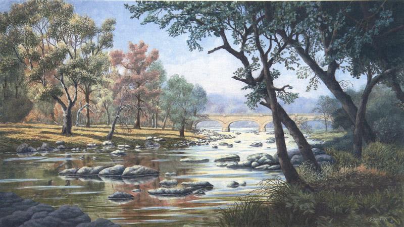 Quiescent Brandywine by William Dawson