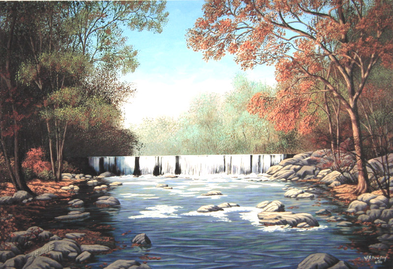 Red Clay Creek by William Dawson