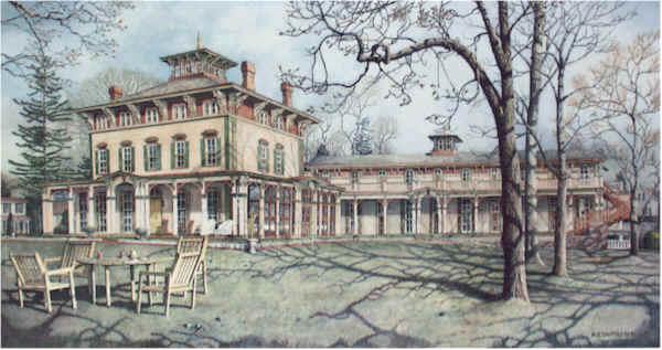Southern Mansion by Nick Santoleri