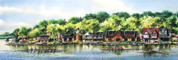 Schuylkill Spring 1 by William Ressler