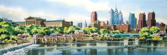 Schuylkill Spring 3 by William Ressler