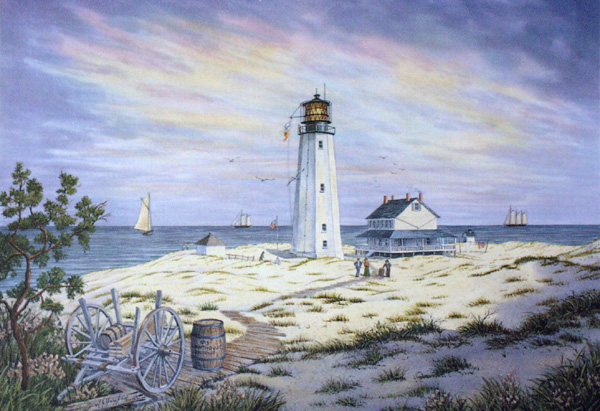 Shifting Sands of Cape Henlopen by William Dawson