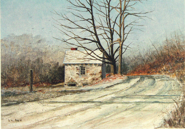 Spring House at Chadds Ford by Dennis Park