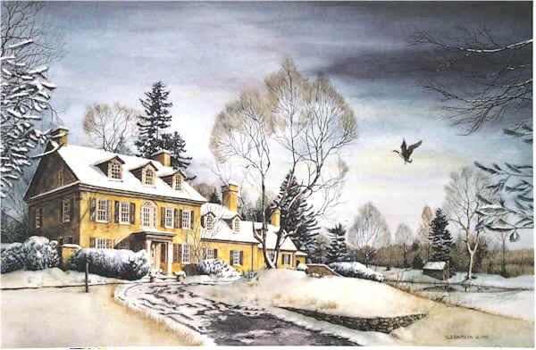 Winter Retreat by Nick Santoleri