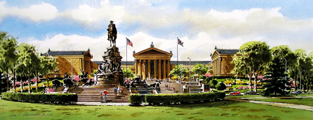 The Art Museum by William Ressler