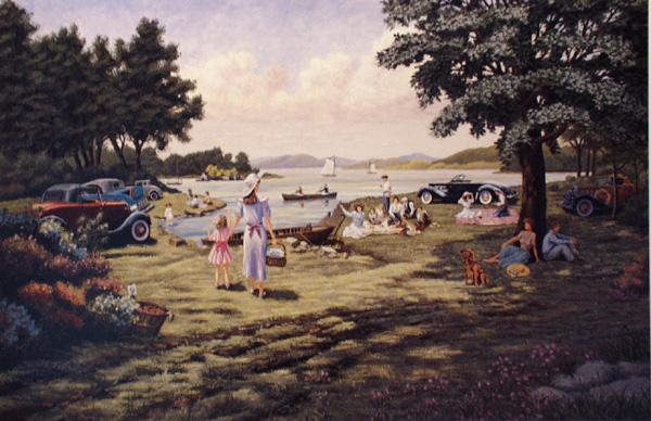The Picnic by William Dawson