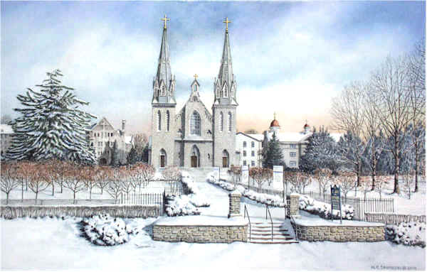 The Church at Villanova (University) by Nick Santoleri
