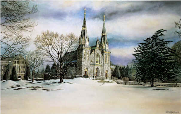 The Chapel at Villanova by Nick Santoleri