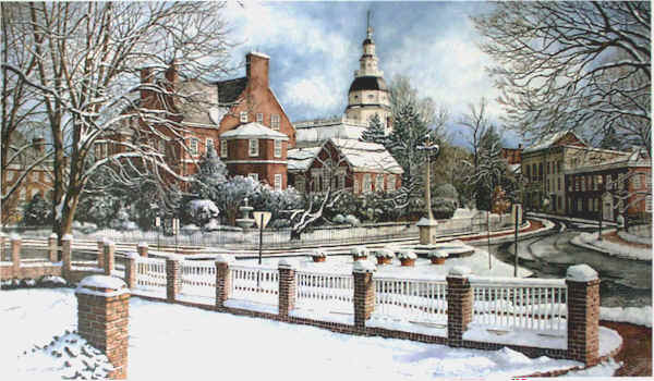 Winter in Annapolis by Nick Santoleri