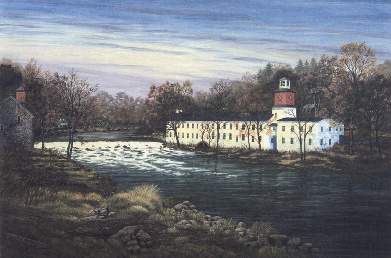 Walker's Mill by William Dawson