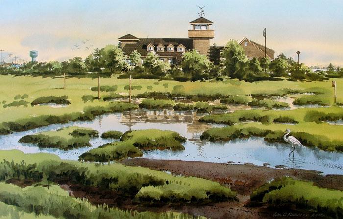 """Wetlands Institute"" by William Ressler"