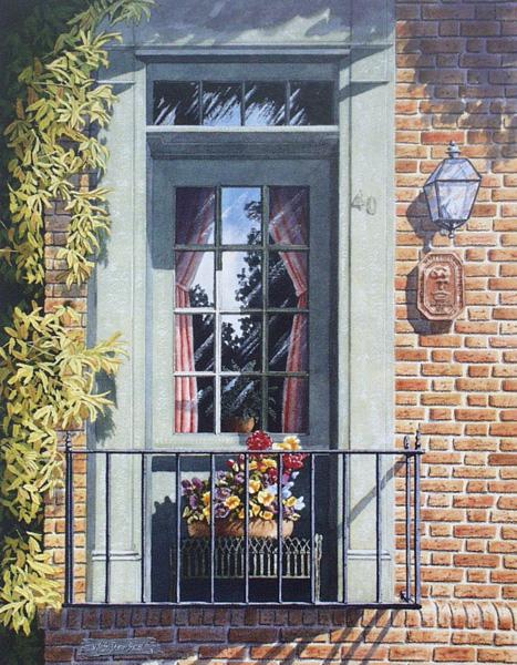 Window Garden by William Dawson