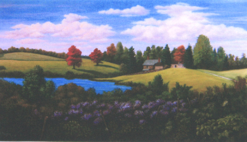 Rolling Hills at Winterthur by William Dawson