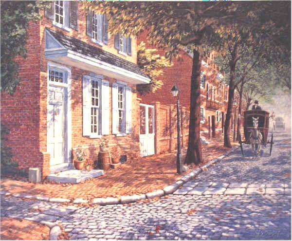 Delancey Street by William Dawson
