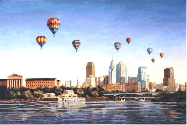 New Horizons - Philadelphia by William Dawson