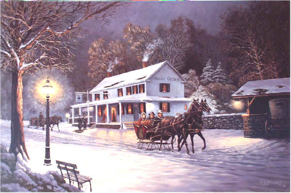 Sleigh Ride by William Dawson