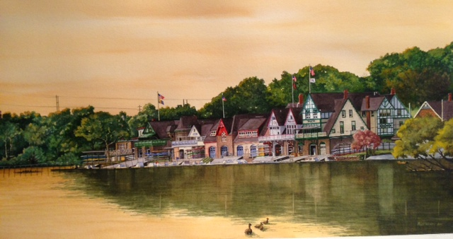Boathouse Row Spring by Moss Adams