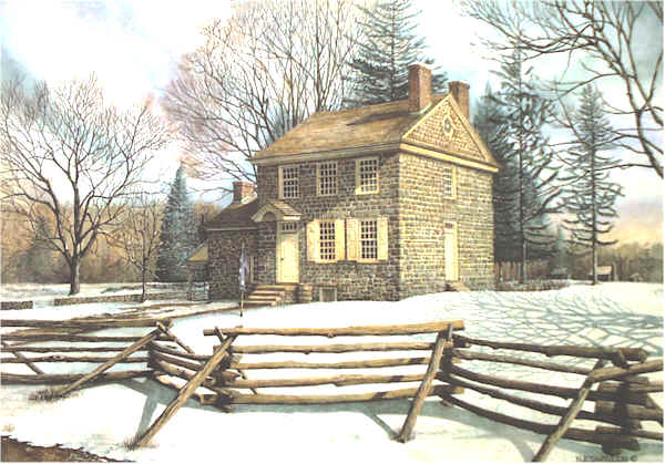 Winter At Valley Forge Open Edition by Santoleri