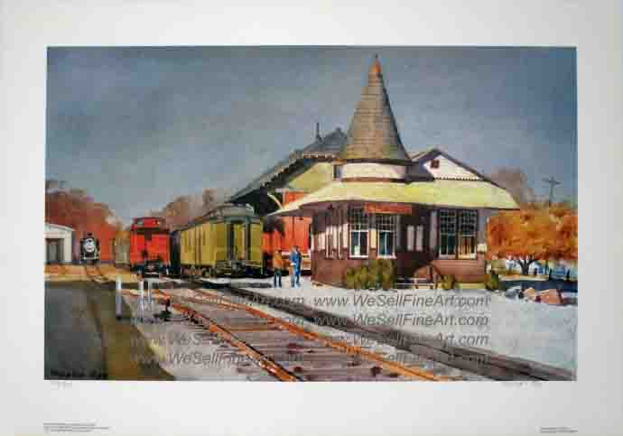 """New Hope Station"" by Ranulph Bye"