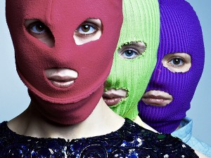 Pussy Riot another photo shoot by Vanya Berezkin (2012)