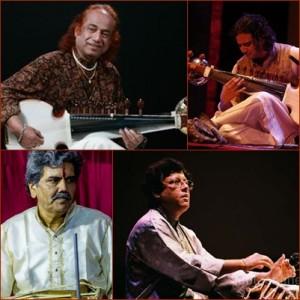 Aashish Khan, Anupam Shobhakar, Anindo Chatterjee & Manik Munde