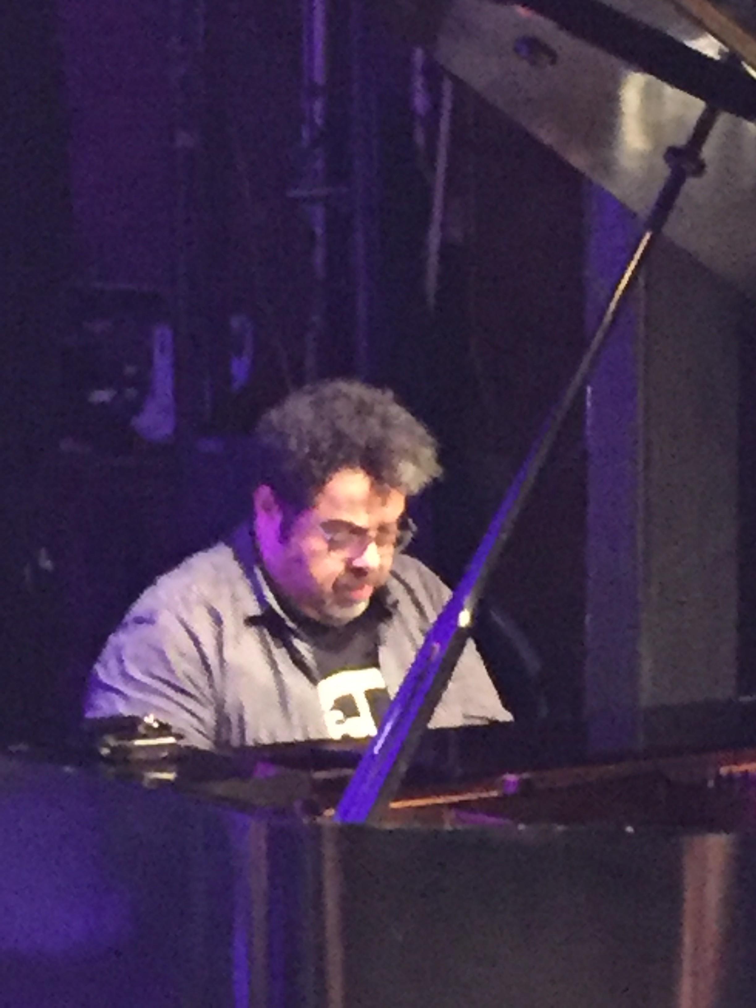 Arturo O'Farrill talk event w. Arturo piano solo