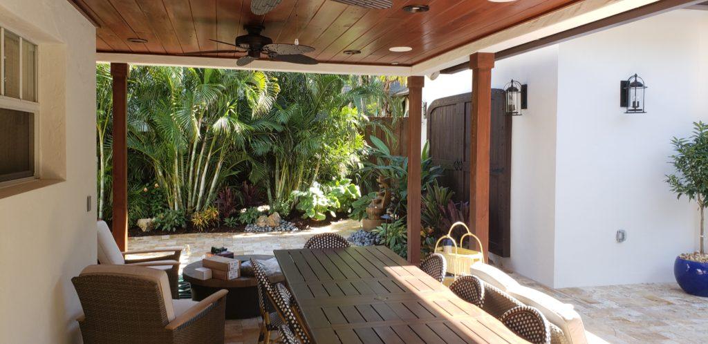small backyard patio landscape west palm beach