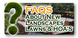 FAQ's On New Landscaping & HOA Requirements