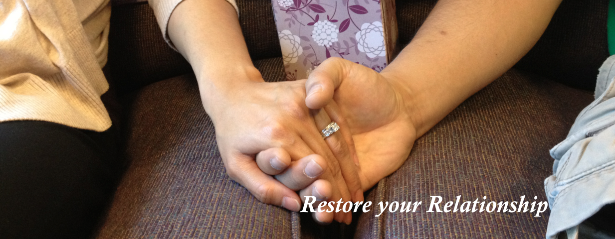 Restore your relationship