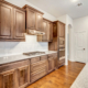 Cabinet Specialists Wood Stained Kitchen