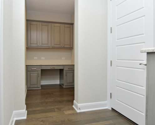 mud room built in work space cabinets