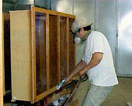 Burrows Cabinets Cabinet BoxFinishing 1990s