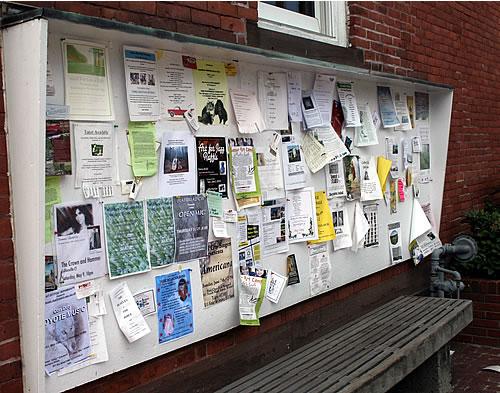 old fashioned community board