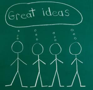 brainstorming marketing ideas