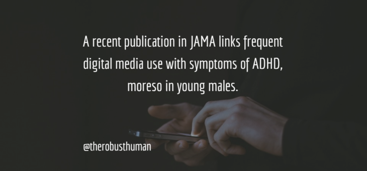 Smart Phones, Attention Residue and ADHD