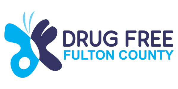 Drug Free Fulton County Logo for featured design work